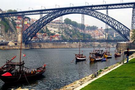 Puente Luis I, en Oporto