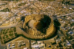El anfiteatro de Thysdrus - anfiteatro-el-djem-51-300x198