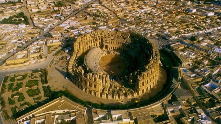El anfiteatro de Thysdrus