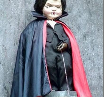 Manneken Pis, la estatua más famosa de Bélgica