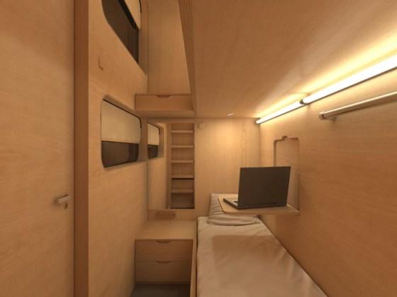 Sleepboxes, las habitaciones de hotel que encontrarás en los aeropuertos - Hostel031