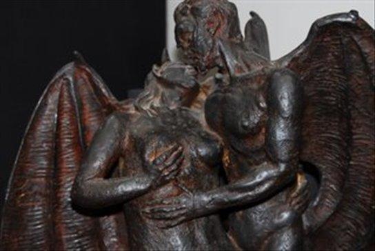 El museo del demonio en Lituania