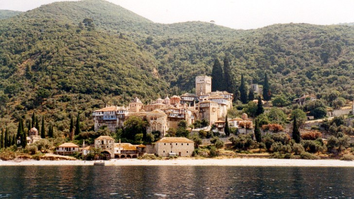 Monte Athos, lugar vetado para las mujeres