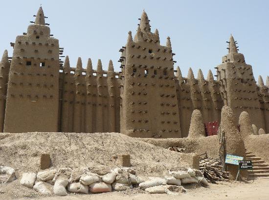 La particularidad de la Mezquita de Djenné