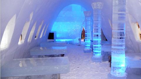 Castillo de hielo de Kemi en FINLANDIA