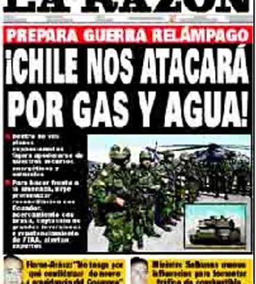Una divertida nota sobre la prensa peruana