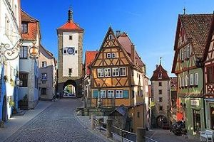 Rothenburg ob der Tauber (Alemania) - rothenburg-2-300x200