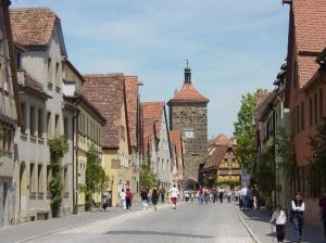 Rothenburg ob der Tauber (Alemania) - rothenburg-4-300x224
