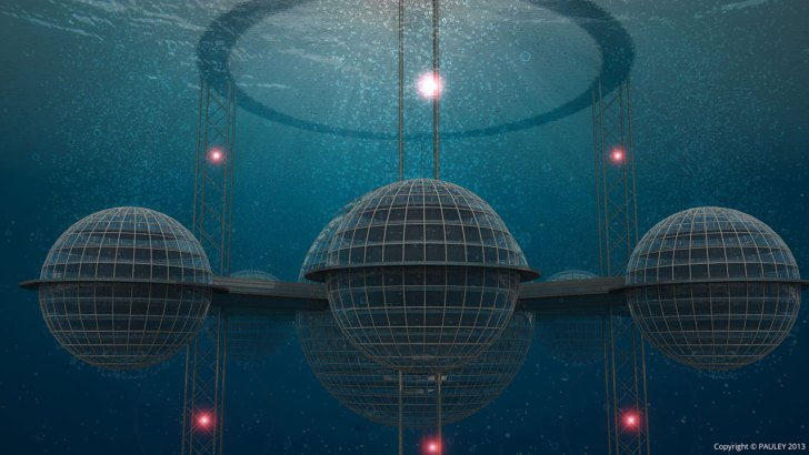 Sub-Bioesfera 2, la ciudad submarina