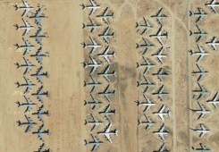 Boneyard: Aviones que configuran el paisaje - Aviones-300x208
