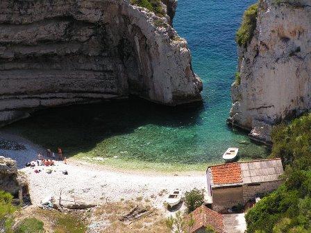 Stiniva, el paraíso del  Adriático