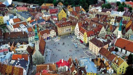 Tallín, la ciudad medieval Hanseática de Estonia