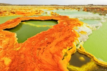 Desierto de Danakil, belleza inhóspita