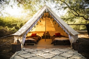 Glamping o acampadas para sibaritas - Guara-300x200