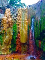 Caldera de Taburiente. (Canarias) - Cascada-de-los-colores-225x300