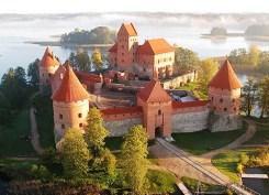 El castillo rojo de Trakai - Castillo-Trakai-300x217