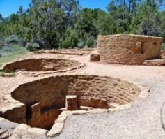El Parque Nacional de Mesa Verde - Kivas-300x252