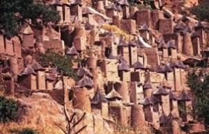 Los acantilados de Bandiagara - Bandingara-300x192