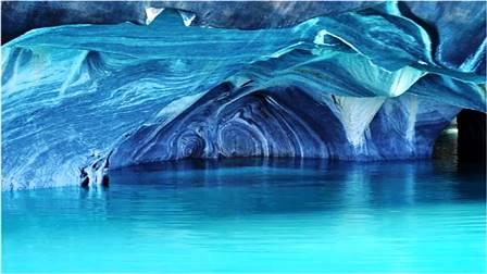Las Cuevas de Mármol (Chile)