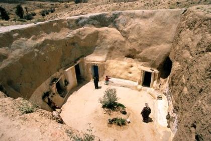 Matmata, las casas cueva de los bereberes
