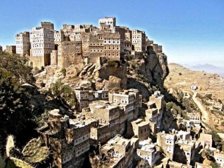 Al Hajjarah, ciudad medieval de rascacielos