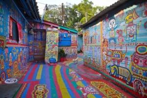 El pueblo del Abuelito Arcoiris - rainbow-village-300x200