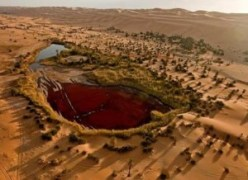 El mar de arena de Ubari (Libia) - ubari-see-7253-300x218