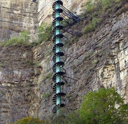 Las escaleras de Taihang: de la tierra a las nubes