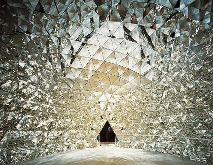 El palacio de cristal de Swarovski