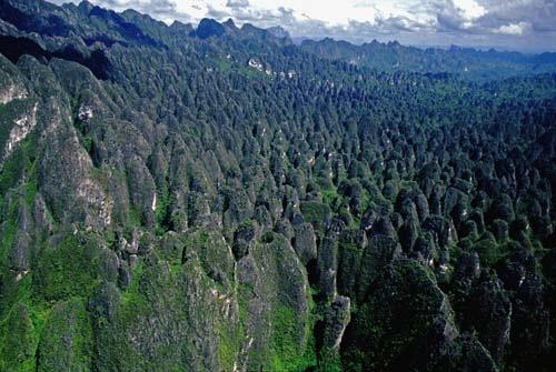 Sangkulirang-Mangkalihat en Kalimantan