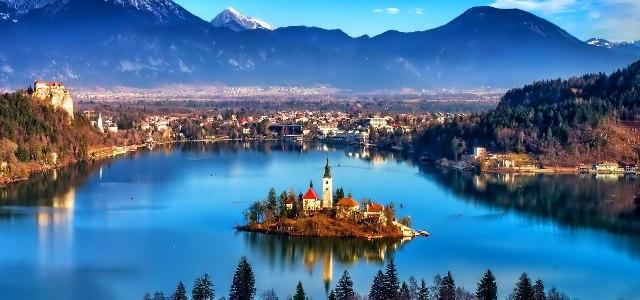 Bled, una de los lugares más bellos de Eslovenia