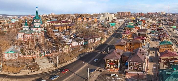 Irkutsk, la ciudad del lago