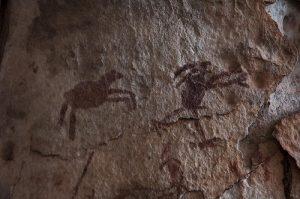Valle de Tucavaca (Bolivia) - Pinturas-rupestres-300x199