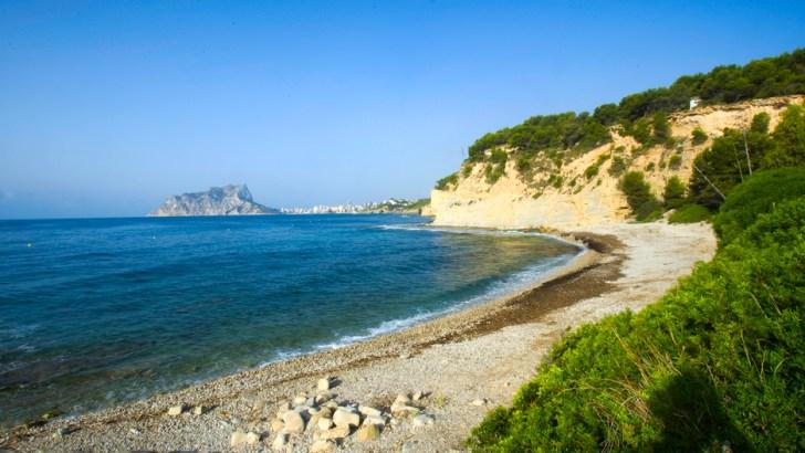 5 playas tranquilas en pleno Mediterráneo