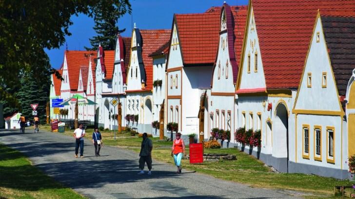 Holašovice, barroco rural en la República Checa
