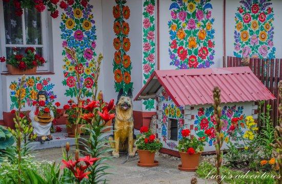 Zalipie, el pueblo de las flores