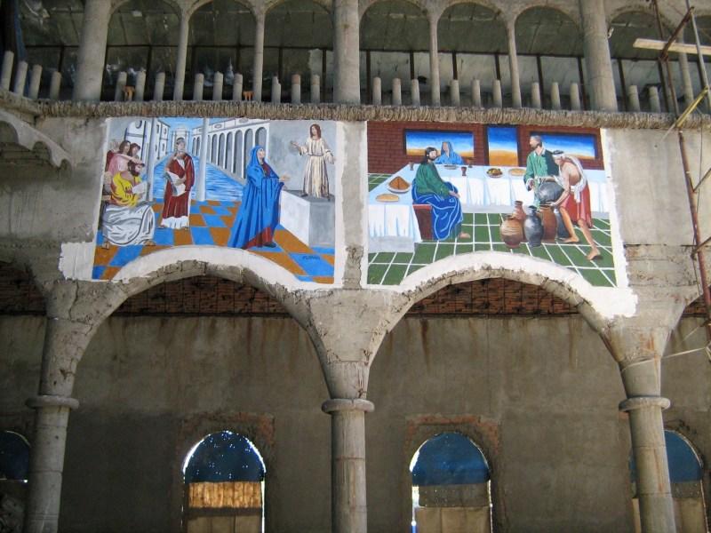 La Catedral de Justo - Frescos de la nave