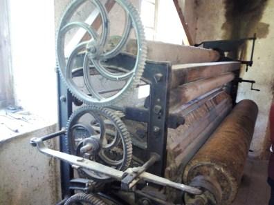 La Fábrica de Lana - Cardadora de mantas.