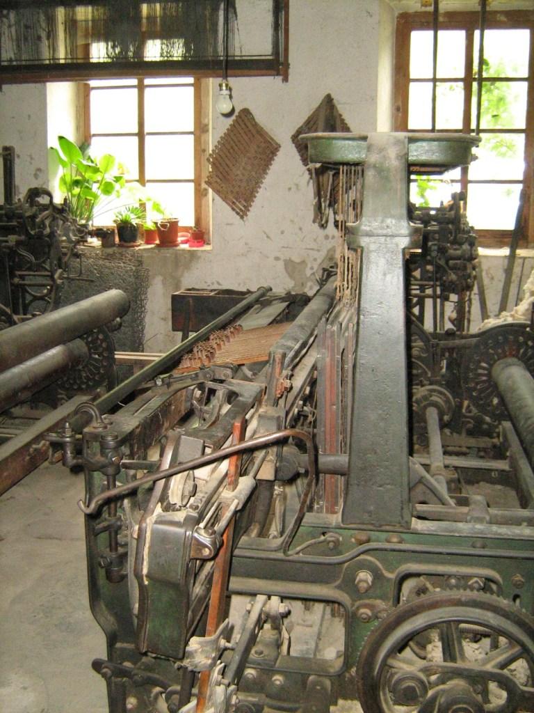 La Fábrica de Lana - Telar de Jacquard.