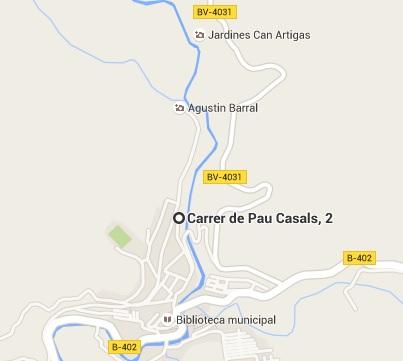 Los Jardines Artigas - Aparca el coche en Pau Casals.