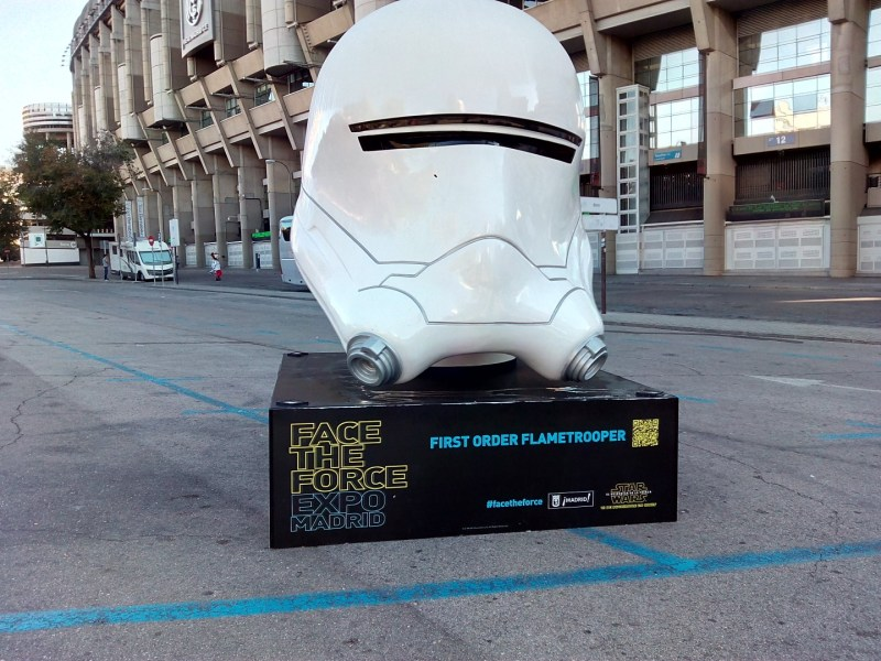 Face the Force - Flametrooper de la Primera Orden