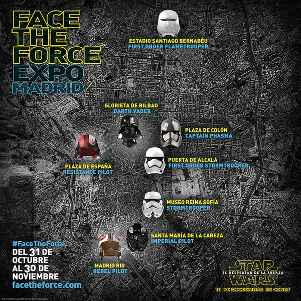 Face the Force - Cartel de la exposición Face The Force