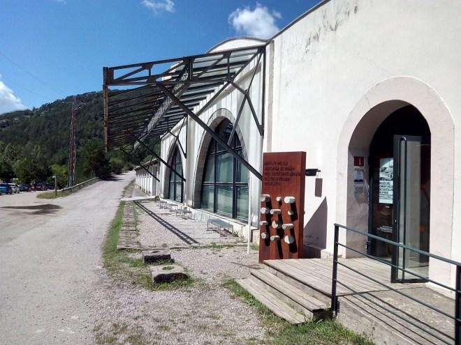 Museo del Cemento Asland - La entrada al Museo del Cemento Asland