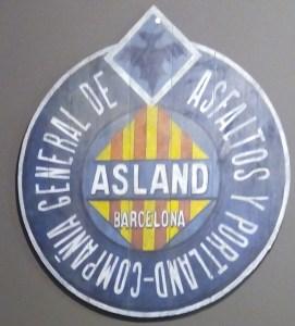 Museo del Cemento Asland - Logo Cementos Asland