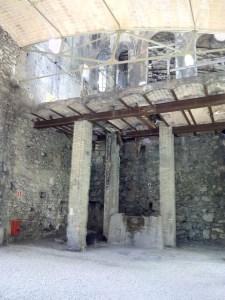 Museo del Cemento Asland - Bóveda reconstruida