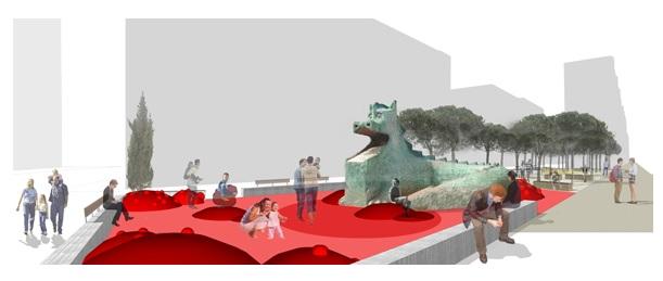 Propuesta de Plaza del Dragón (2).