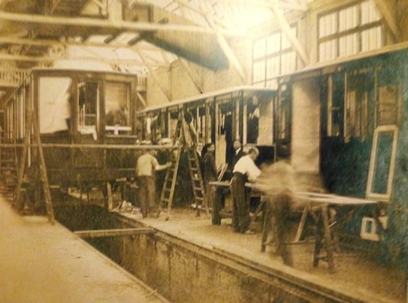 Estación Fantasma de Chamberí - Talleres de Cuatro Caminos