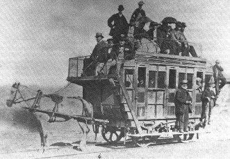 Estación Fantasma de Chamberí - Primer tranvía de pasajeros (1)