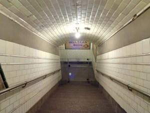 Estación Fantasma de Chamberí - La iluminación actual es más potente que en 1919