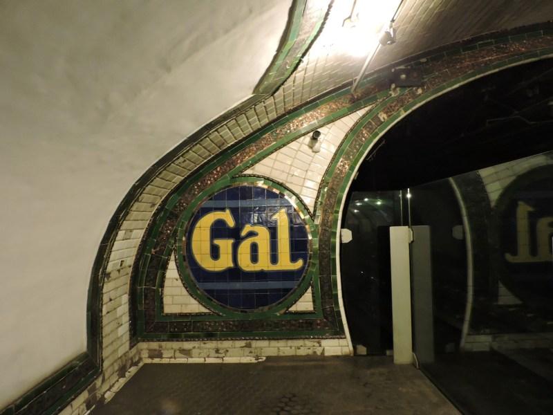 Estación Fantasma de Chamberí - Anuncio de GAL